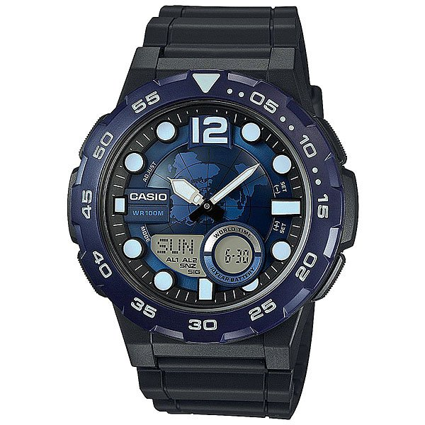 Электронные часы Casio Collection AEQ-100W-2A casio aeq 100w 2a