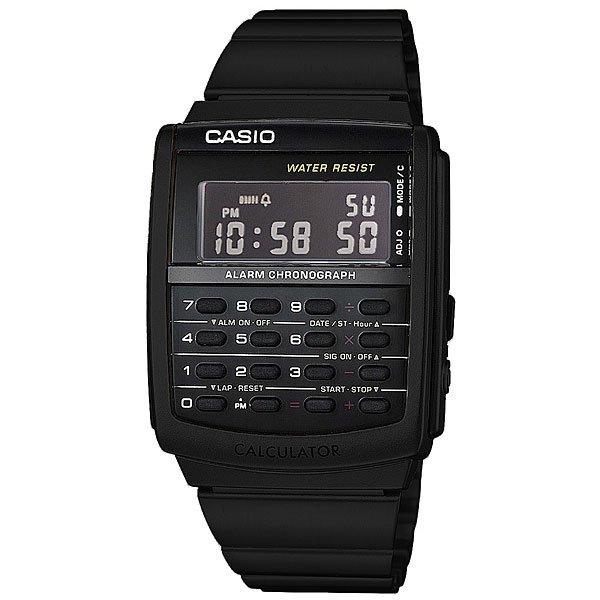 Электронные часы Casio Collection CA-506B-1AСтильные электронные часы для самых модных. Часы Casio подчеркнут ваш внешний вид и добавят изюминку вашему гардеробу. Характеристики:Корпус из стали и пластика. Эта модель является водонепроницаемым на DIN 8310 / ISO 22810, и, таким образом, устойчива к незначительному намоканию. Любого большего водного контакта нужно избегать.Светодиодная подсветка. Функции будильника, секундомера, календаря. Возможность установить второй часовой пояс. Функция калькулятора.Стальной браслет.<br><br>Цвет: черный<br>Тип: Электронные часы<br>Возраст: Взрослый<br>Пол: Мужской