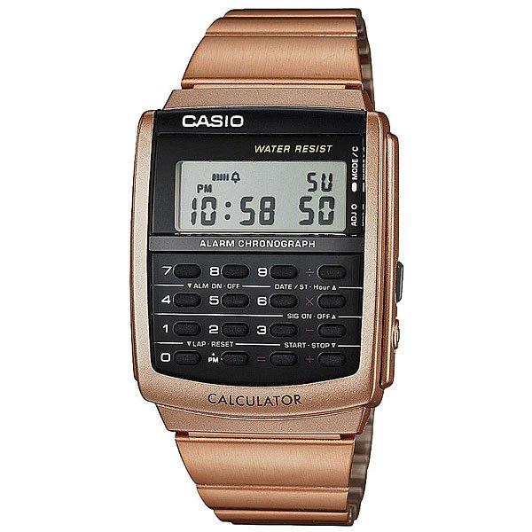 Электронные часы Casio Collection CA-506C-5AСтильные электронные часы для самых модных. Часы Casio подчеркнут ваш внешний вид и добавят изюминку вашему гардеробу. Характеристики:Корпус из стали и пластика. Эта модель является водонепроницаемым на DIN 8310 / ISO 22810, и, таким образом, устойчива к незначительному намоканию. Любого большего водного контакта нужно избегать.Светодиодная подсветка. Функции будильника, секундомера, календаря. Возможность установить второй часовой пояс. Функция калькулятора.Стальной браслет.<br><br>Цвет: коричневый<br>Тип: Электронные часы<br>Возраст: Взрослый<br>Пол: Мужской