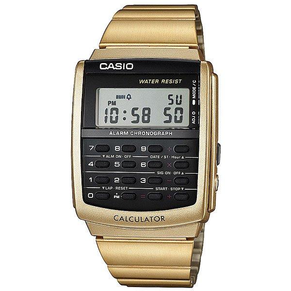 Электронные часы Casio Collection CA-506G-9AСтильные электронные часы для самых модных. Часы Casio подчеркнут ваш внешний вид и добавят изюминку вашему гардеробу. Характеристики:Корпус из стали и пластика. Эта модель является водонепроницаемым на DIN 8310 / ISO 22810, и, таким образом, устойчива к незначительному намоканию. Любого большего водного контакта нужно избегать.Светодиодная подсветка. Функции будильника, секундомера, календаря. Возможность установить второй часовой пояс. Функция калькулятора.Стальной браслет.<br><br>Цвет: желтый<br>Тип: Электронные часы<br>Возраст: Взрослый<br>Пол: Мужской