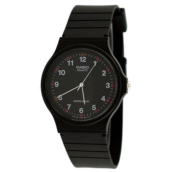 Кварцевые часы Casio Collection MQ-24-1BОсобенности национального японского часового производства заключается в выпуске народных часов – надежных, доступных, качественных. Именно такими являются мужские наручные Casio MQ-24-7BUL вобрав в себя еще одно поистине японское качество – минимализм.Простой пластиковый корпус классической круглой формы, сдержанный и всегда уместный черный цвет, полимерный браслет в тон – это основа данной модели.Характеристики:Точный кварцевый механизм.Центральная секундная стрелка. Точность хода: не хуже +/-20 секунд в месяц.Срок службы батареи 2 года. Корпус пластик.Ремешок из полимерного материала.<br><br>Цвет: черный<br>Тип: Кварцевые часы<br>Возраст: Взрослый<br>Пол: Мужской