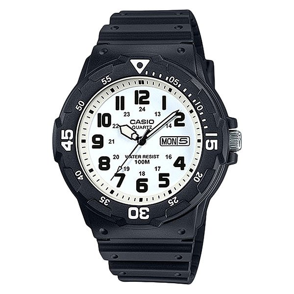 Кварцевые часы Casio Collection MRW-200H-7B кварцевые часы casio collection mrw 200h 4b black