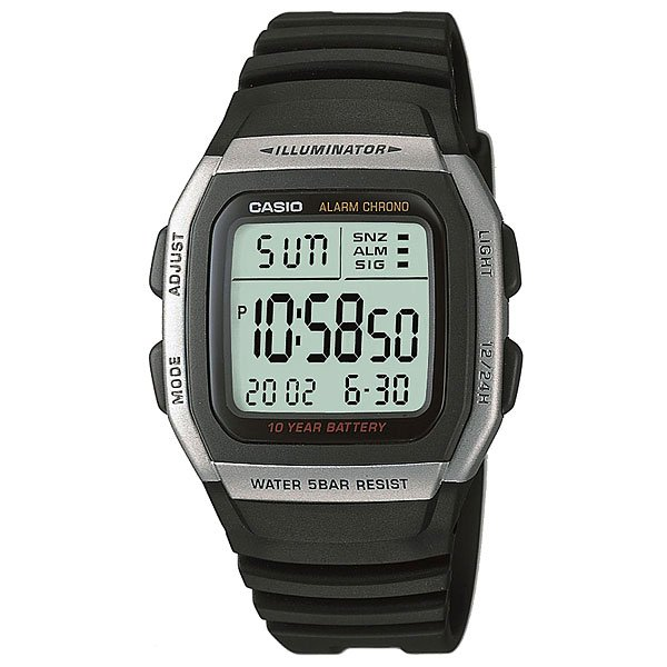 Электронные часы Casio Collection W-96H-1A casio w 43h 1a casio