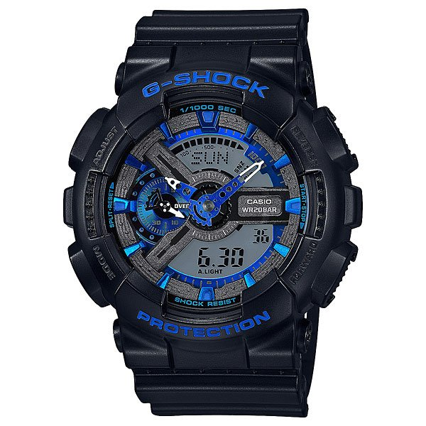 Электронные часы Casio G-Shock GA-110CB-1A casio g shock ga 100l 1a