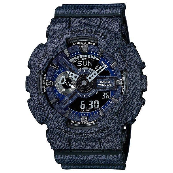 Электронные часы Casio G-Shock GA-110DC-1AМужские наручные часы Casio G-Shock GA-110CB-1A. Часы наручные серии Casio G-Shock G-Shock - ударопрочная конструкция защищает от ударов и вибрации.Характеристики:Экран: стрелки + электроника. Корпус: пластик. Ремешок: резиновый (каучуковый). Стекло: минеральное. Светодиодная автоподсветка. Будильник: 5 независимых будильников + возможность ежечасного сигнала + функция будильник с повтором через несколько минут.Секундомер с точностью до 1/1000 секунды. Таймер обратного отсчета с функцией повтора. Режим Мирового времени: Обеспечивает отображение текущего времени в некоторых городах и определенных регионах мира. Полностью автоматический календарь. 12- и 24-часовой формат времени.<br><br>Цвет: синий<br>Тип: Электронные часы<br>Возраст: Взрослый<br>Пол: Мужской