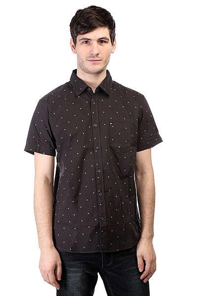 Рубашка Quiksilver Every Min Motss Wvtp Mini Motif Anthracit<br><br>Цвет: черный<br>Тип: Рубашка<br>Возраст: Взрослый<br>Пол: Мужской