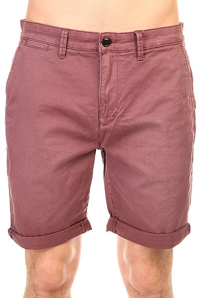 Шорты классические Quiksilver Krandy Chin short Plum Wine quiksilver шорты классические every cargo short dusty olive 1144675