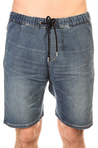 Шорты джинсовые Quiksilver Foniden Fleeshor Worn Wash