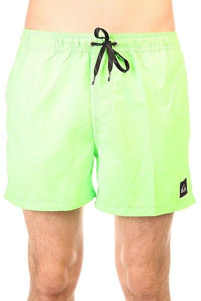 Шорты пляжные Quiksilver Every Volley Jamv Green Gecko<br><br>Цвет: зеленый<br>Тип: Шорты пляжные<br>Возраст: Взрослый<br>Пол: Мужской