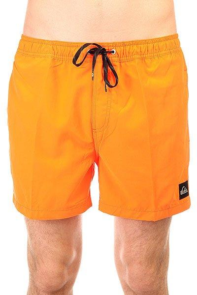 Шорты пляжные Quiksilver Every Volley Shocking Orange<br><br>Цвет: оранжевый<br>Тип: Шорты пляжные<br>Возраст: Взрослый<br>Пол: Мужской