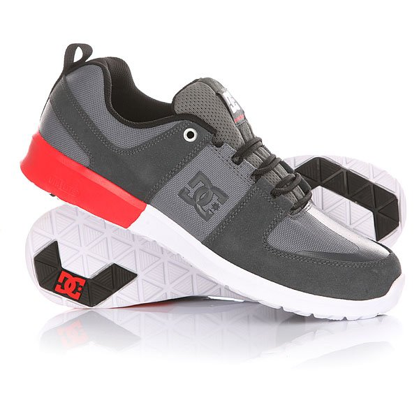 Кроссовки DC Lynx Lite Grey/Red/White
