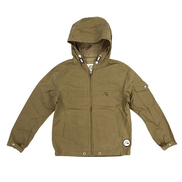 Куртка детская Quiksilver Shoreline Youth Dusty Olive quiksilver шорты классические every cargo short dusty olive 1144675
