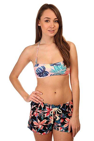Бюстгальтер женский Roxy Bandeau Beach Palm Combo Ros<br><br>Цвет: мультиколор<br>Тип: Бюстгальтер<br>Возраст: Взрослый<br>Пол: Женский