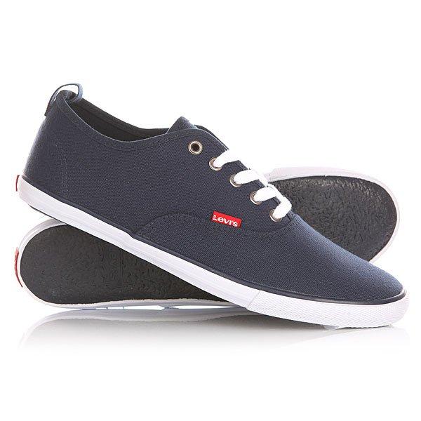 Кеды кроссовки низкие Levis Negroni Navy Blue levis 0051404030