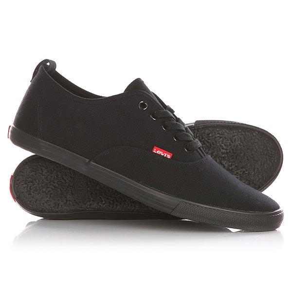 Кеды кроссовки низкие Levis Negroni Regular Black