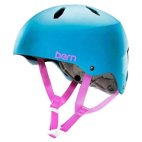 Шлем для велосипеда детский Bern Bike EPS Diabla Satin Cyan BlueBE-VW9ESCYSMШлем Bern Diablo - отличный вариант защиты для подростков от 8 до 15 лет. Практичный, функциональный и надежный, готов стать верным спутником в любых приключениях!Технические характеристики: Пена EPS - наполнитель, сохраняющий свои свойства после множества ударов.Ультра тонкий корпус Thin Shell специально разработан для пены EPS, предназначен для защиты от сильных ударов.Соответствует стандартам CPSC (велосипед и ролики), ASTM F 2040, EN1078 (зимние виды спорта).<br><br>Цвет: голубой<br>Тип: Шлем для велосипеда<br>Возраст: Детский