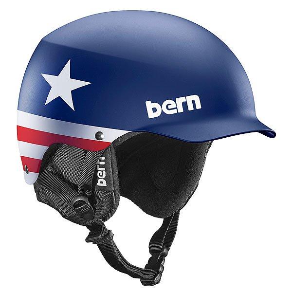 Шлем для сноуборда Bern Snow EPS Baker Seth Wescott Pro Model/Black LinerBE-M4EWESTSMЗнаменитый шлем с козырьком (патент № USA D572, 865 S). Этот шлем представил двукратный Олимпийский чемпион игр в Турине в 2006 году Seth Wescott.Технические характеристики: Премиальная трикотажная подкладка.Встроенный аудио-комплект.Ультра тонкий корпус Thin Shell специально разработан для пены EPS, предназначен для защиты от сильных ударов.Внешняя оболочка из тонкого прочного пластика ABS с подкладкой из пены EPS.Пена EPS - наполнитель, сохраняющий свои свойства после множества ударов.Мягкие амбушюры.Мягкая подкладка из шерпы на ремешке.Зажим для маски.В комплекте идет зимний внутренник c регулировкой по размеру Crank Fit.Соответствует стандартам CPSC и EN 1078 (велосипед и ролики), ASTM F 2040 и EN 1077B (зимние виды спорта).Логотип Bern.<br><br>Цвет: синий,белый,красный<br>Тип: Шлем для сноуборда<br>Возраст: Взрослый<br>Пол: Мужской