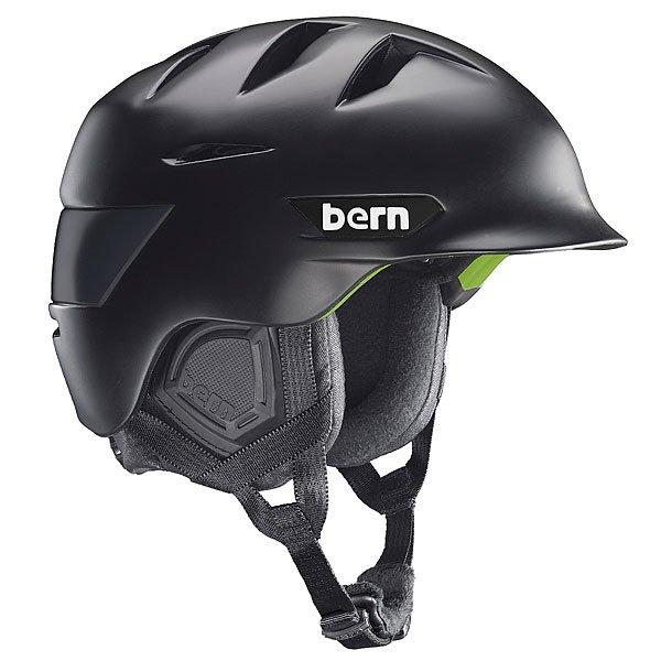 Шлем для сноуборда Bern Snow Zipmold Rollins Matte Black/Black LinerBE-SM08ZMBLK01Новый зимний шлем в линейке Bern имеет внешний слайдер для регулировки уровня вентиляции. Шлем сделан на основе технологии Zip Mold.Технические характеристики: Поликарбонатная оболочка с жестким Zip Mold пенопластом.Zipmold® - запатентованный наполнитель который образует единую спаянную между собой внутреннюю и внешнюю защитную часть шлема, благодаря которому достигается оптимальный баланс защитных свойств и веса шлема.Трикотажная подкладка.Встроенный аудио-комплект.Регулируемый ремешок с мягкой подкладкой.Козырек.В комплекте идет зимний premium внутренник c регулировкой по размеру Crank Fit.Соответствует стандартам CPSC (велосипед и ролики), ASTM F 2040, EN1078 (зимние виды спорта).Логотип Bern.<br><br>Цвет: черный<br>Тип: Шлем для сноуборда<br>Возраст: Взрослый<br>Пол: Мужской