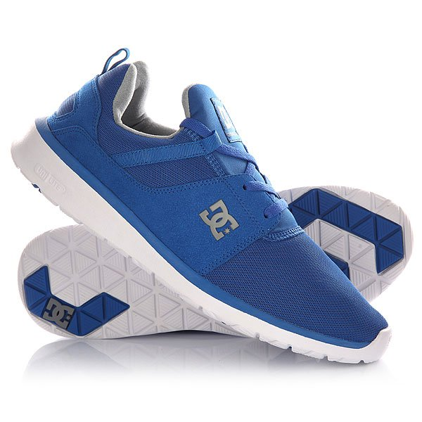 Кроссовки DC Heathrow M Blue/Grey dc shoes кеды dc heathrow 8