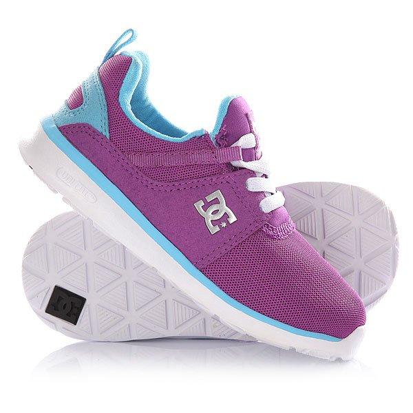 Кроссовки детские DC Heathrow T Purple dc shoes кеды dc heathrow 8