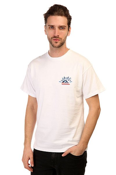 Футболка Quiksilver Back Viking Tee White