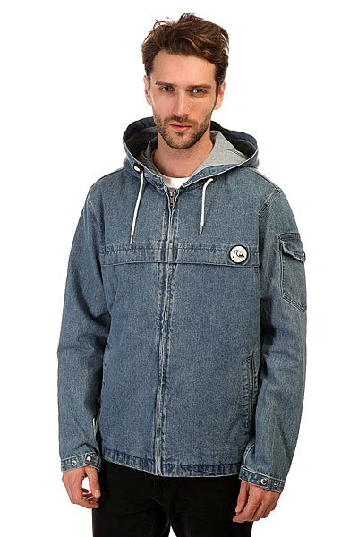 Куртка джинсовая Quiksilver Denim Capsule Blue Surf