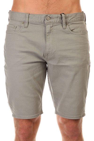 Шорты джинсовые DC Colour Shorts MonumentКлассические джинсовые шорты, без которых невозможно представить летний гардероб.Характеристики:Straight fit. 5 карманов. Вышитый логотип на заднем кармане.<br><br>Цвет: серый<br>Тип: Шорты джинсовые<br>Возраст: Взрослый<br>Пол: Мужской