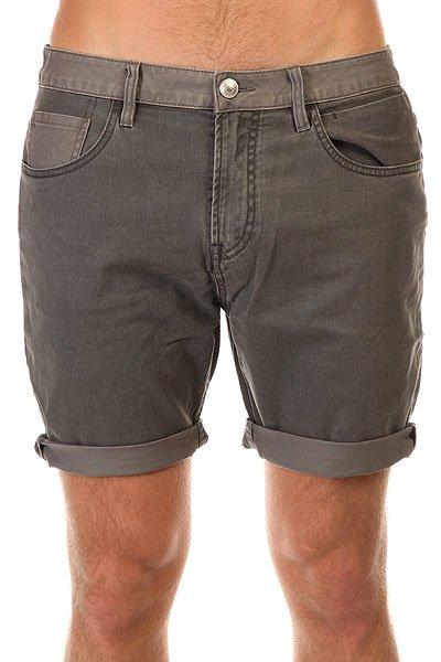 Шорты классические Quiksilver Kracker Shortcon CastlerockПотрясающие шорты, в которых Вам захочется проходить все лето.Характеристики:Прямой крой. 2 боковых и 2 задних кармана. Кармашек для мелочи. Прочные запечатанные швы. Петли для ремня. Смягчающая энзимообработка изделия. Ширинка на молнии и пуговице. Нашивка Quiksilver.<br><br>Цвет: серый<br>Тип: Шорты классические<br>Возраст: Взрослый<br>Пол: Мужской