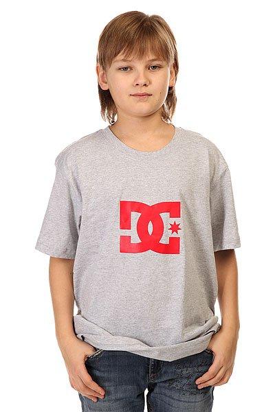 Футболка детская DC Star Ss Heather Grey
