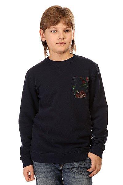 Толстовка свитшот детская DC Bellingham Blue Iris