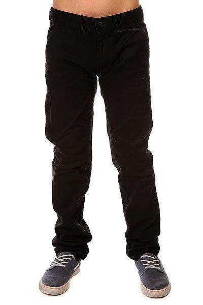 Штаны узкие детские DC Wrk Slm Chno BlackДетские брюки Worker Slim Fit Chino от DC Shoes.Технические характеристики: Легкая эластичная саржа.Узкий крой.Скошенные передние карманы.Задние карманы на пуговицах.Петли для ремня.Ярлычок с логотипом DC Shoes.<br><br>Цвет: черный<br>Тип: Штаны узкие<br>Возраст: Детский