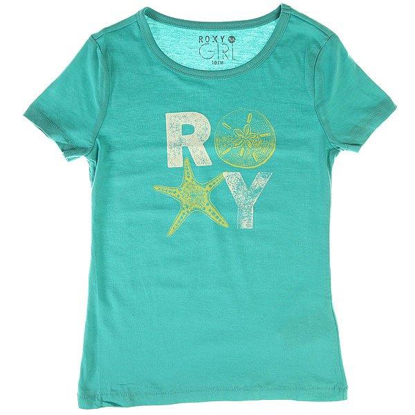 Футболка детская Roxy Basic Tee Baltic Blue