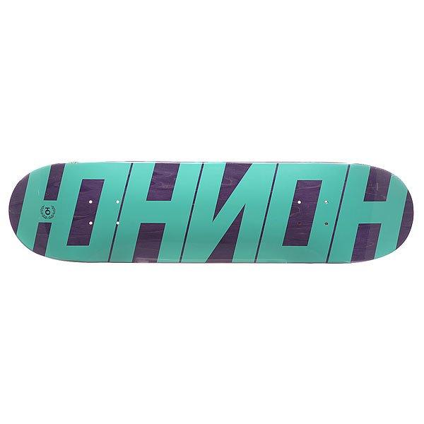 Дека для скейтборда Union Mint/Purple 31.75 x 8 (20.3 см)