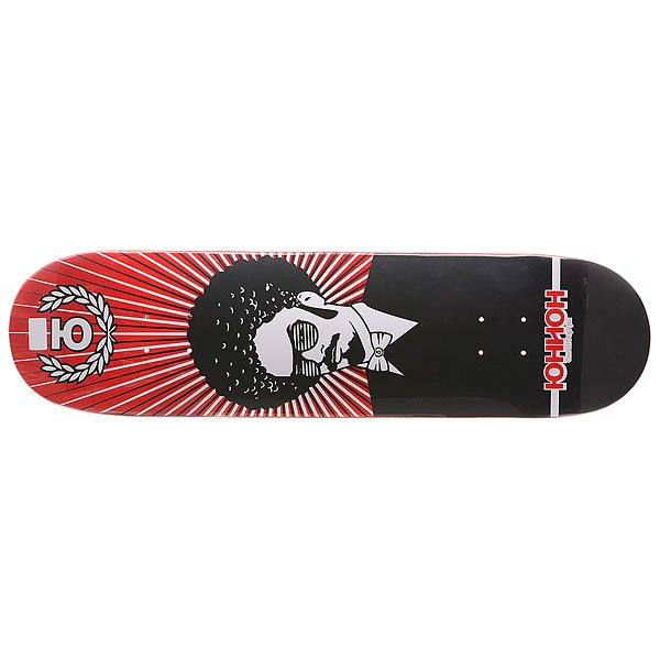 Дека для скейтборда для скейтборда Union Funk Red 32 x 8.25 (21 см)Ширина деки: 8.25 (21 см)    Длина деки: 32 (81.3 см)    Количество слоев: 7<br><br>Цвет: красный,черный<br>Тип: Дека для скейтборда