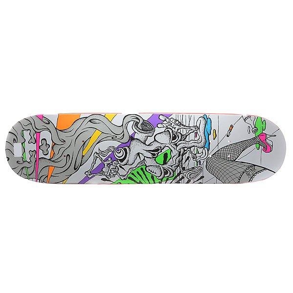 Дека для скейтборда для скейтборда Union Stoke Multi 32 x 8.125 (20.6 см)Ширина деки: 8.125 (20.6 см)    Длина деки: 32 (81.3 см)    Количество слоев: 7<br><br>Цвет: мультиколор<br>Тип: Дека для скейтборда