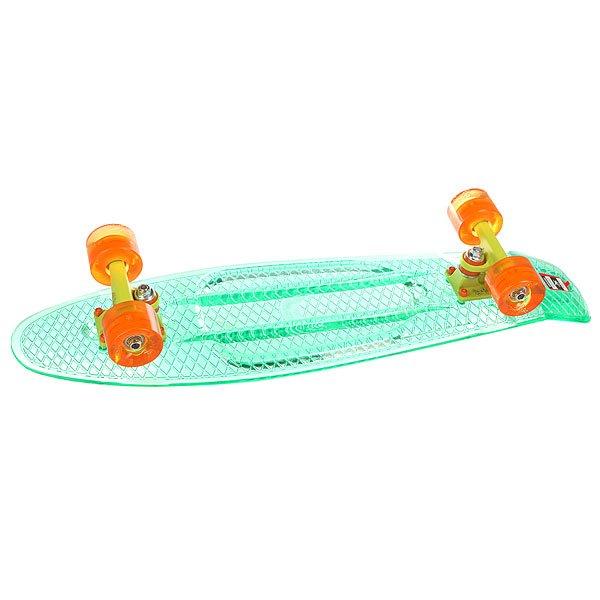 Скейт мини круизер Union Transp Fresh Aqua 7.5 x 28 (71.1 см)