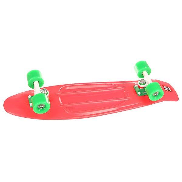Скейт мини круизер Пластборд Rose Pink 7.5 x 28 (71.1 см)Пластборд Юнион(Union) - это пластиковый скейтборд-круизер с загнутым хвостом для передвижения по городу и трюкачества. Очень прочная дека, качественные подвески, подшипники и колеса сделают вашу езду плавной и комфортной. Технические характеристики: Дека из прочного полиуретана повышенной прочности и эластичности. Подвески изалюминия. Бушинги Union 89А. Подшипники -Union Water Prof Abec7 (водонепроницаемаяконструкция). Колеса - круизного типа Union Virage диаметром 59 мм с стандартной мягкостью 83А. Нестирающееся цепкое покрытие. Различные расцветки в ассортименте.<br><br>Цвет: розовый<br>Тип: Скейт мини круизер