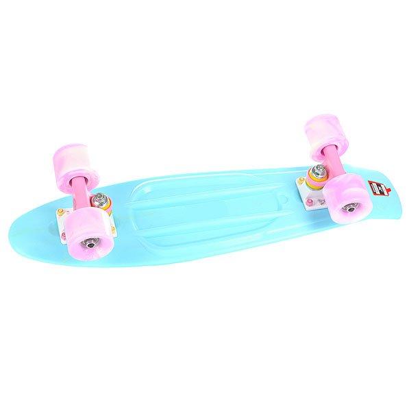 Скейт мини круизер Union Smoke Candy Light Blue 6 x 22.5 (57.1 см)