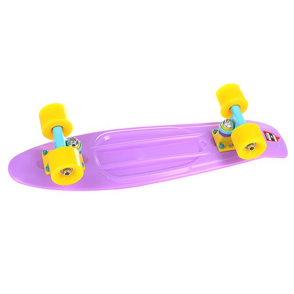 Скейт мини круизер Union Violet Purple 6 x 22.5 (57.2 см)Пластборд Юнион(Union) - это пластиковый скейтборд-круизер с загнутым хвостом для передвижения по городу и трюкачества. Очень прочная дека, качественные подвески, подшипники и колеса сделают вашу езду плавной и комфортной. Технические характеристики: Дека из прочного полиуретана повышенной прочности и эластичности. Подвески изалюминия. Бушинги Union 89А. Подшипники -Union Water Prof Abec7 (водонепроницаемаяконструкция). Колеса - круизного типа Union Virage диаметром 59 мм с стандартной мягкостью 83А. Нестирающееся цепкое покрытие. Различные расцветки в ассортименте.<br><br>Цвет: фиолетовый<br>Тип: Скейт мини круизер