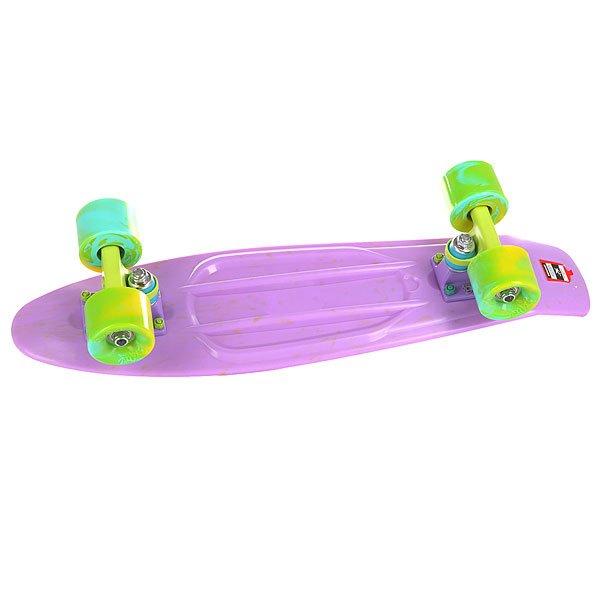 Скейт мини круизер Union Smoke Plum Purple 6 x 22.5 (57.2 см)Пластборд Юнион(Union) - это пластиковый скейтборд-круизер с загнутым хвостом для передвижения по городу и трюкачества. Очень прочная дека, качественные подвески, подшипники и колеса сделают вашу езду плавной и комфортной. Технические характеристики: Дека из прочного полиуретана повышенной прочности и эластичности. Подвески изалюминия. Бушинги Union 89А. Подшипники -Union Water Prof Abec7 (водонепроницаемаяконструкция). Колеса - круизного типа Union Virage диаметром 59 мм с стандартной мягкостью 83А. Нестирающееся цепкое покрытие. Различные расцветки в ассортименте.<br><br>Цвет: фиолетовый<br>Тип: Скейт мини круизер