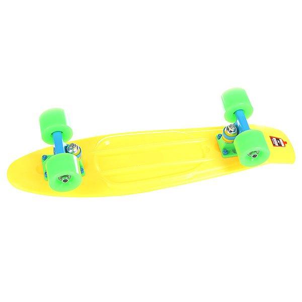 Скейт мини круизер Union Neon Coast Yellow 6 x 22.5 (57.2 см)