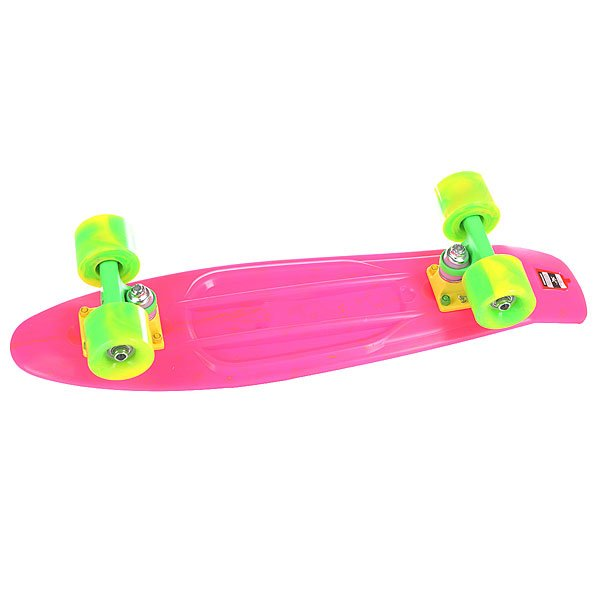 Скейт мини круизер Union Smoke Rave Pink 6 x 22.5 (57.2 см)