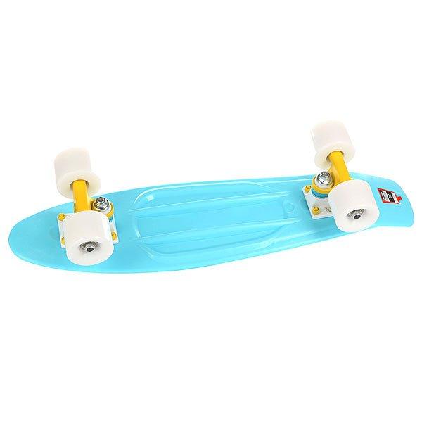 Скейт мини круизер Union Tide Light Blue 6 x 22.5 (57.2 см)Пластборд Юнион(Union) - это пластиковый скейтборд-круизер с загнутым хвостом для передвижения по городу и трюкачества. Очень прочная дека, качественные подвески, подшипники и колеса сделают вашу езду плавной и комфортной. Технические характеристики: Дека из прочного полиуретана повышенной прочности и эластичности. Подвески изалюминия. Бушинги Union 89А. Подшипники -Union Water Prof Abec7 (водонепроницаемаяконструкция). Колеса - круизного типа Union Virage диаметром 59 мм с стандартной мягкостью 83А. Нестирающееся цепкое покрытие. Различные расцветки в ассортименте.<br><br>Цвет: голубой<br>Тип: Скейт мини круизер<br>Возраст: Взрослый<br>Пол: Мужской