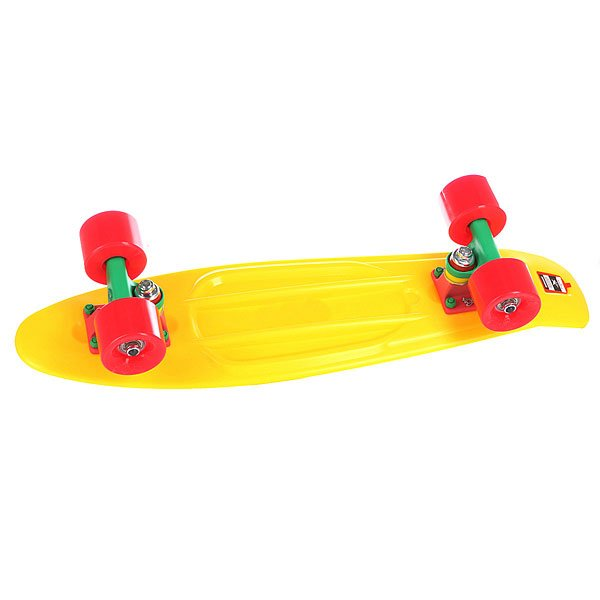 Скейт мини круизер Union Jah Yellow 6 x 22.5 (57.1 см)