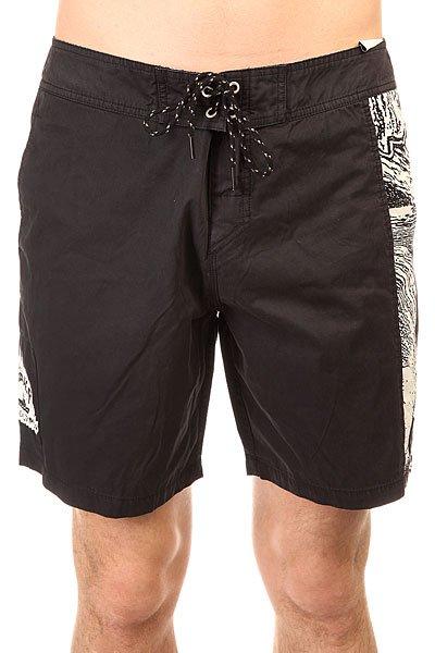 Шорты пляжные Quiksilver Turbo Dog Black<br><br>Цвет: черный<br>Тип: Шорты пляжные<br>Возраст: Взрослый<br>Пол: Мужской