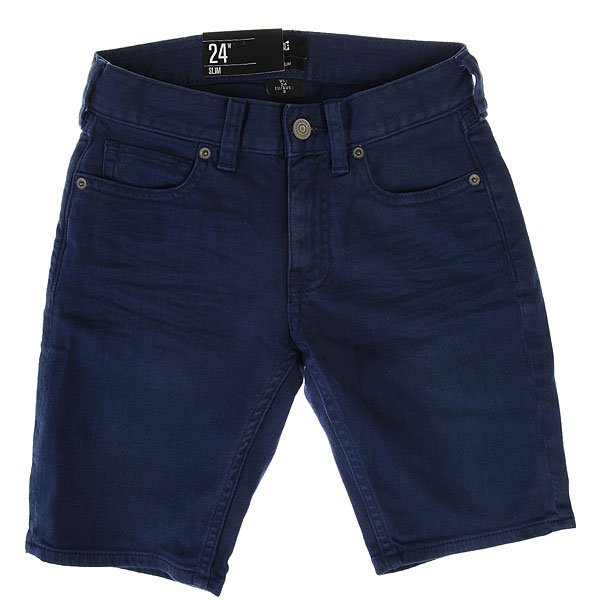 Шорты джинсовые детские DC Col St Jn Sh By Vintage Indigo<br><br>Цвет: синий<br>Тип: Шорты джинсовые<br>Возраст: Детский