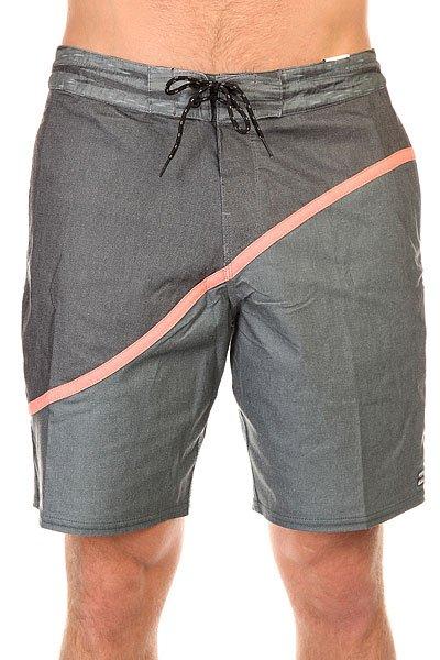 Шорты пляжные Billabong Pulse Lo Tides 19 StealthШорты, которые сочетают в себе стиль бордшорт и современные технологии в тканях и крое. Pulse Lo Tides - эластичные шорты в ретро стиле.Технические характеристики: PCX - переработанная эластичная ткань.Короткий и современный крой с изогнутыми панелями.Пояс на шнуровке для удобной регулировки.Боковые карманы для рук и задний карман с клапаном.Контрастный дизайн.Логотип Billabong.<br><br>Цвет: серый<br>Тип: Шорты пляжные<br>Возраст: Взрослый<br>Пол: Мужской