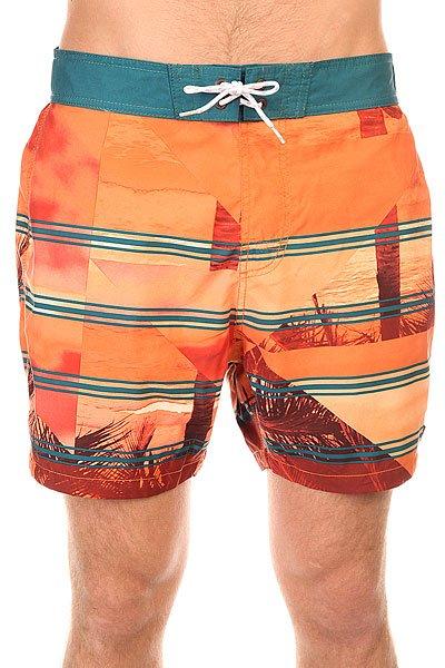 Шорты пляжные Billabong Utopia Layback 16 Orange
