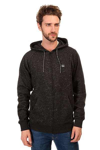 Толстовка классическая Billabong Balance Zip Hood Black