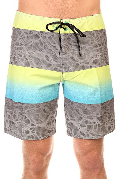 Шорты пляжные Billabong Fade X 18 Neon Lime